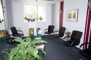 Praxisräume Wartezimmer